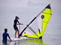 Leccion de windsurf