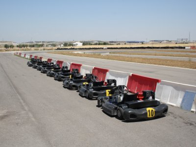 Karting: classifica + 5 giri a Ocaña