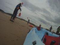 Imparando a guidare un kayak