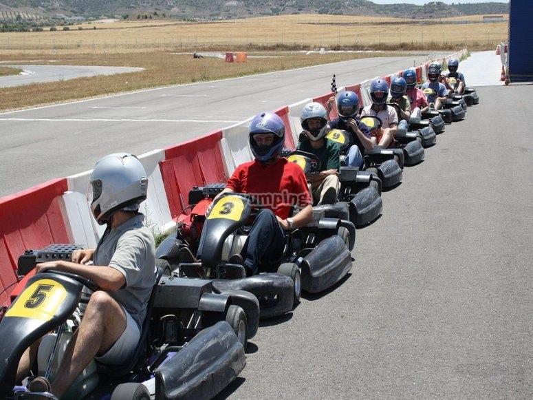 Gara di go-kart a Ocaña
