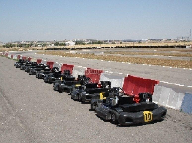 Karting e classifica di gara