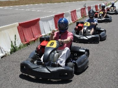 Karting: classifica + 10 giri a Ocaña