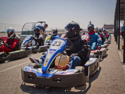 Karting: classifica + 15 giri a Ocaña