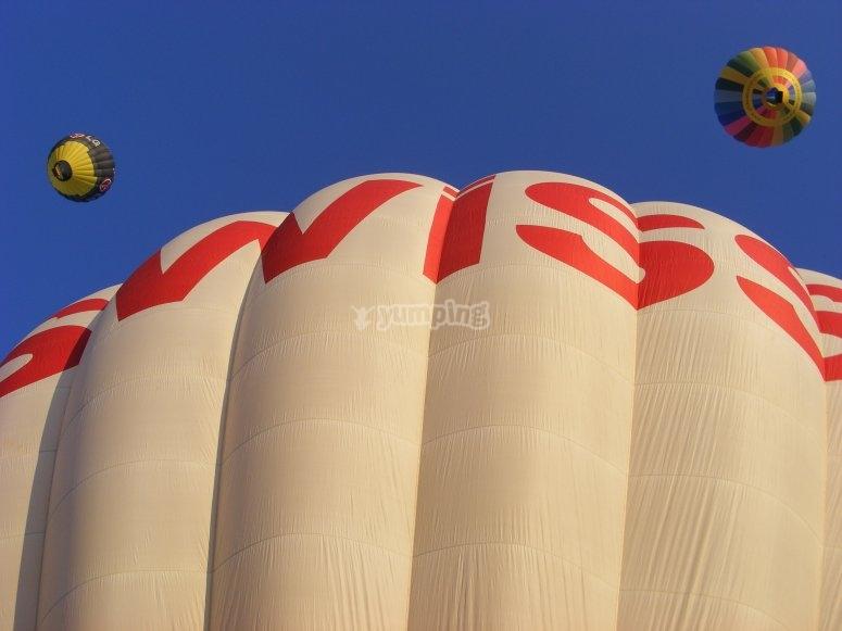 Balloon flight Madrid