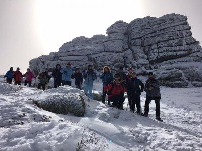 Ruta con Raquetas de Nieve Parque Guadarrama 3h
