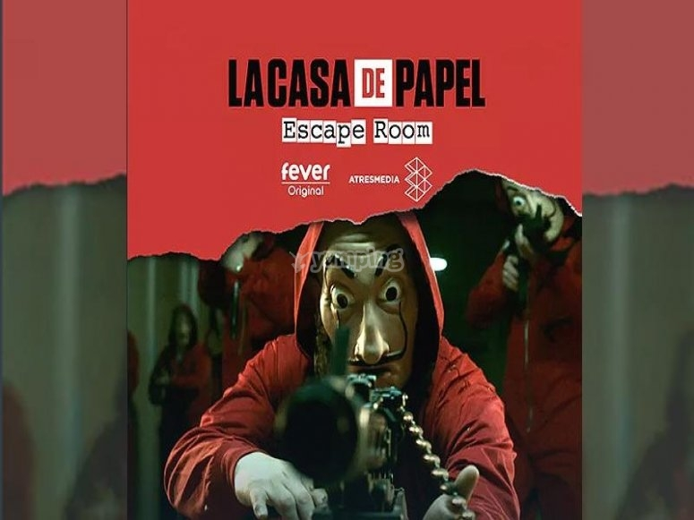 La Casa de Papel regresa a Madrid con el escape room más grande de Europa