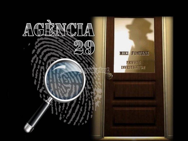 Escapa si puedes juego Agencia 29