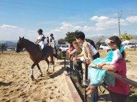 Montas a nuestros caballos