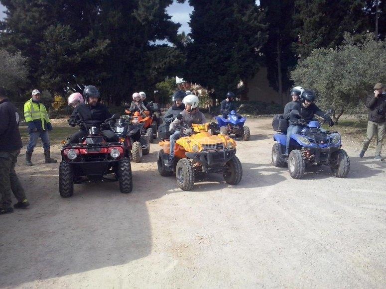 Tour in quad