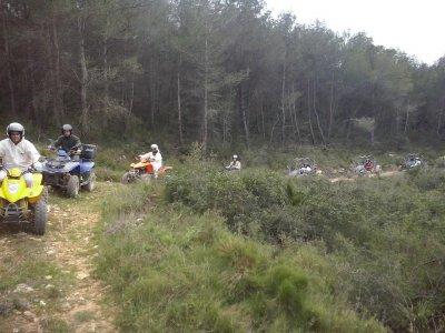Tour en quad biplace à Vilanova 2 heures