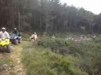 Haciendo una excursion en quad