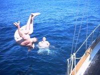 Voltereta al agua