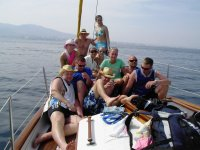 dia de mar entre amigos