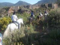 Rutas a caballo por Granada