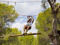 Adrenalina en los troncos