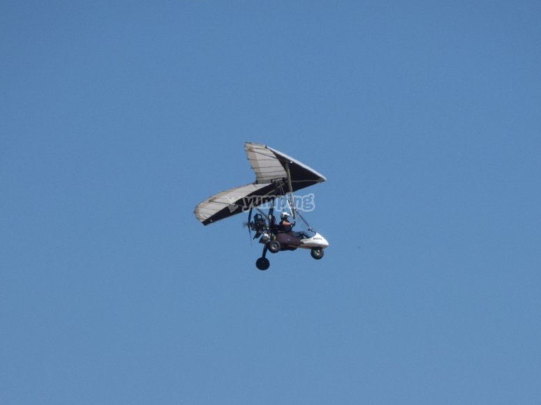 Volar en un ultraligero