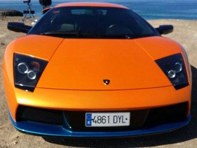 Conducir Lamborghini en ctra, 20 min, Gran Canaria