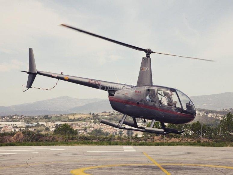 Ruta en helicoptero