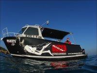 barco de buceo Hondarribia