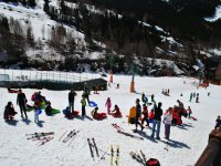 Preparandos para esquiar