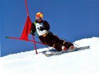 esquiando a tope
