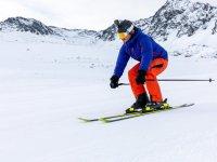 Disfrutando de un día de esquí