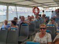 De excursion en el bus a Tabarca