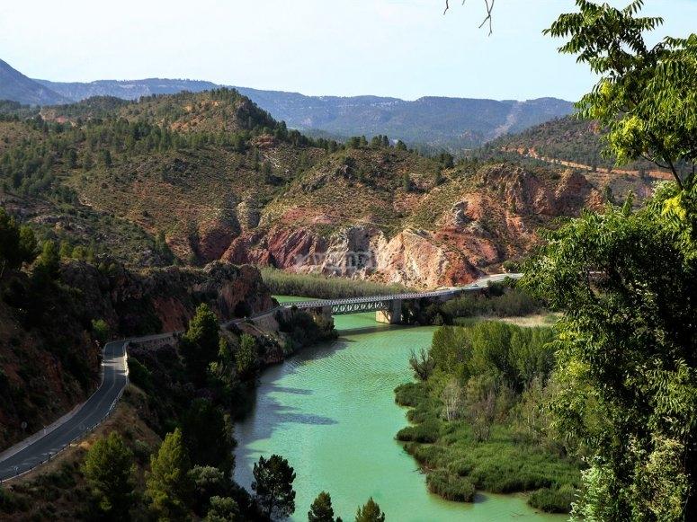 River cruise in the Júcar