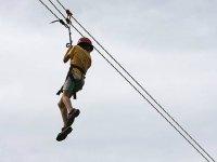从桥上跳无眩晕平衡攀登防空洞