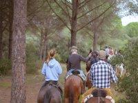 Gruppo a cavallo