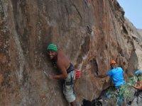 Empezando la escalada en Fuerteventura