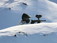 Paintball en la nieve