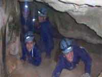 Enter underground