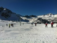 Cross-country skiing in Grand Valira