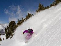 Descenso en esquí en Grand Valira