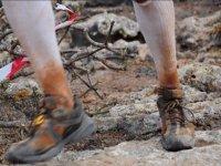 Zapatillas durante la excursion