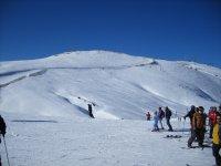 Snowboarding in cerler