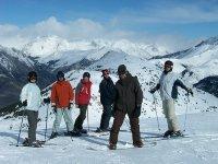 Cursos de esquí con clases particulares y colectivas