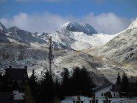 El valle de Formigal bajo la nieve
