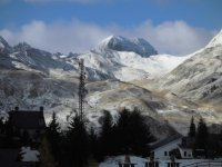 The Formigal valley under the snow