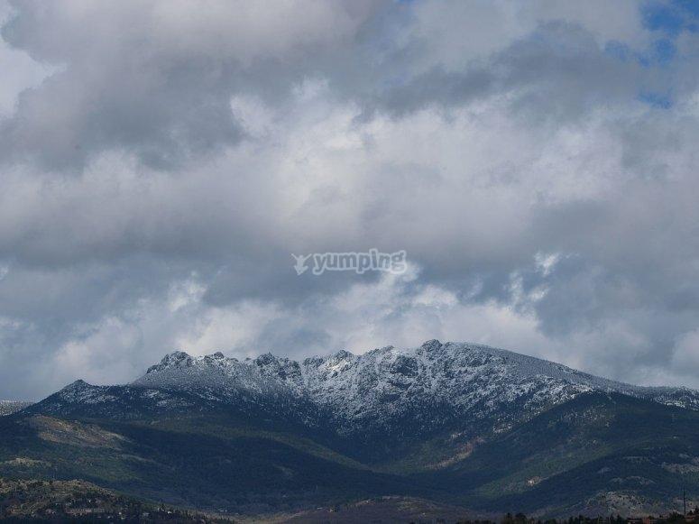 Panorámica de los siete picos