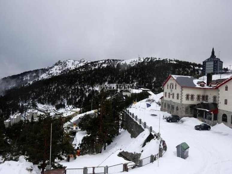 Vista del Puerto de Navacerrada