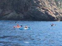 Siguiendo la ruta en kayak