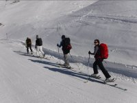 Expedicion de esqui de fondo