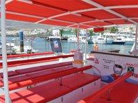 Seats catamaran in Tenerife