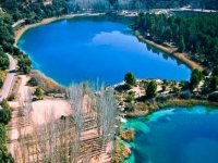 paisajes y vistas de la laguna de ruidera