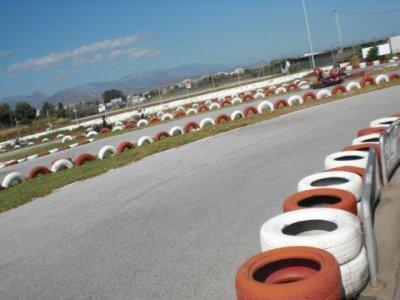 Carrera de karting, adultos, Almayate Bajo