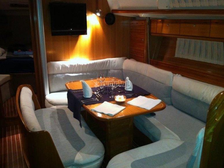 Experiencia romantica en barco