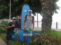 Comienza la jornada de Surf