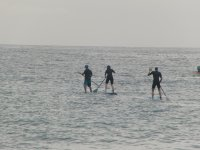 A navegar practicando Paddle Surf